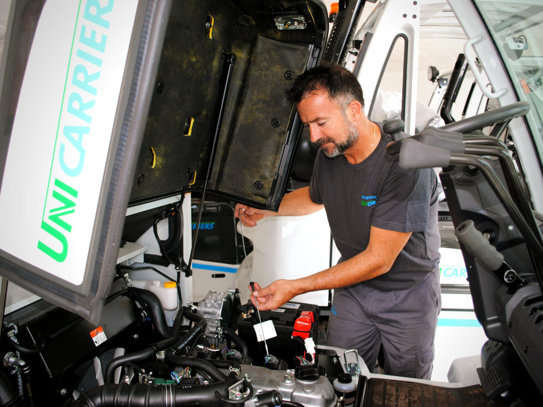 Alquiler, Venta y reparación de carretillas elevadoras en Murcia · Autofrutos