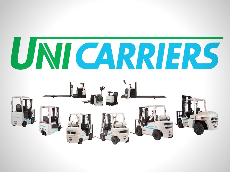 Catálogo de productos actualizado: nuevas carretillas elevadoras eléctricas, apiladores, recogepedidos y retráctiles de UniCarriers