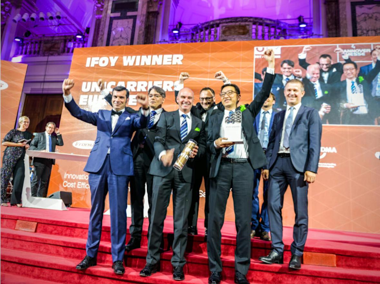 Carretilla Elevadora TX3 premiada como la mejor carretilla contrapesada